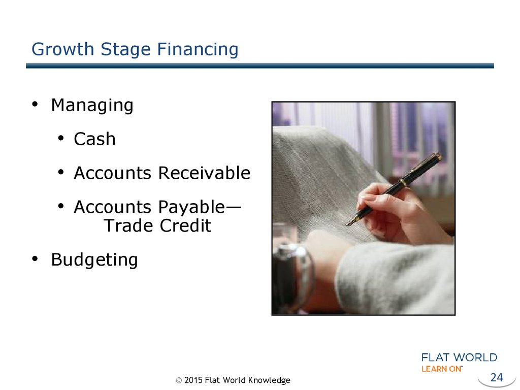 Growth Stage Financing