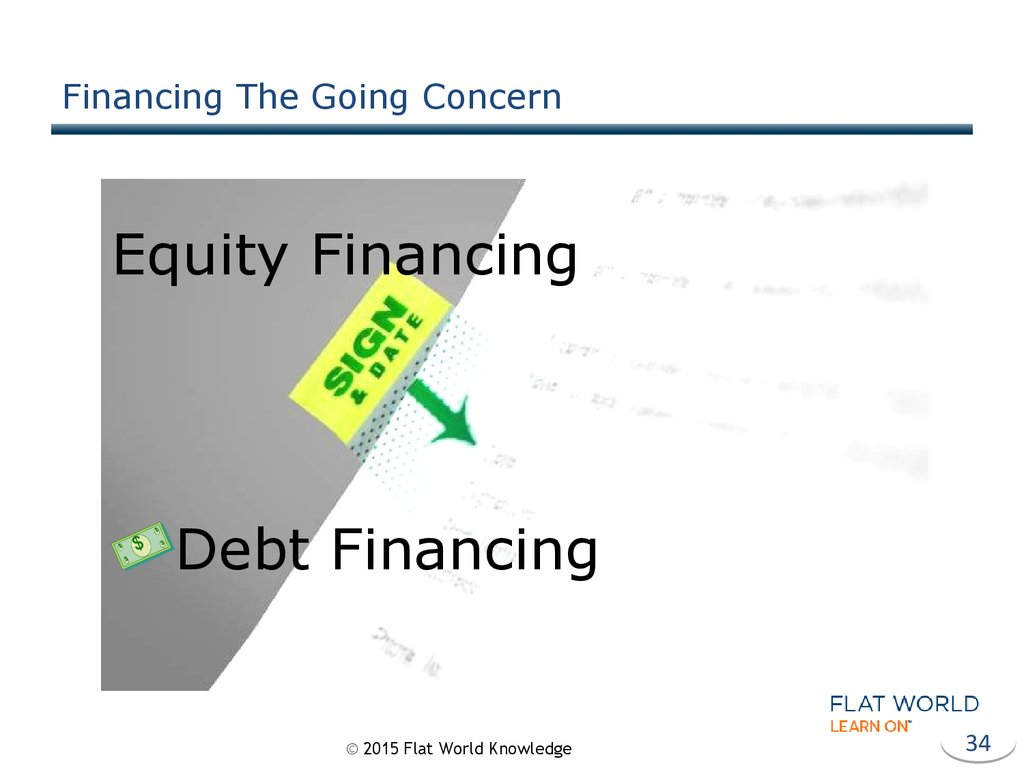 Financing The Going Concern