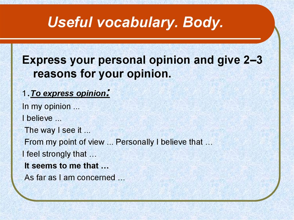 useful expressions on essay