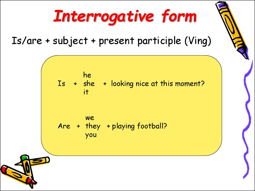 Present Perfect Continuous Tense Interrogative Sentences