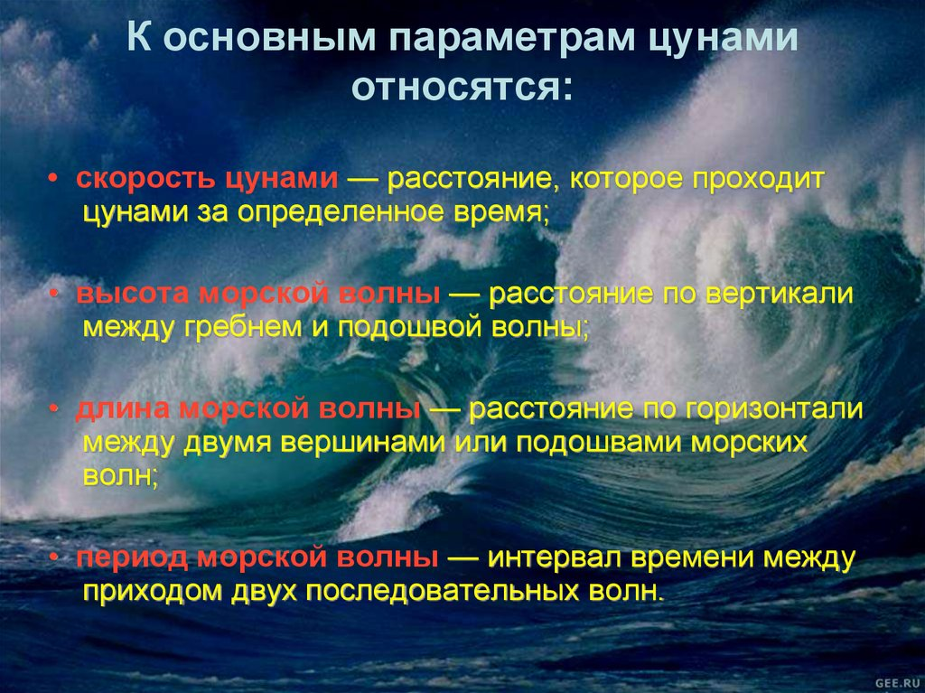 physics of tsunamis essay