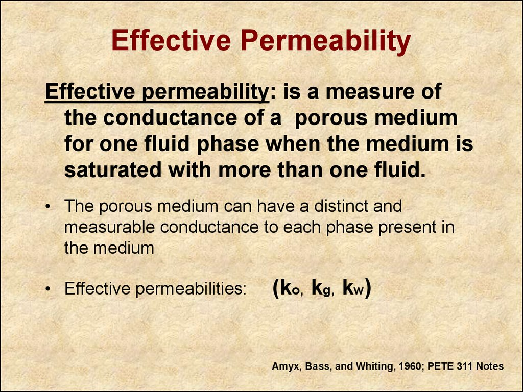 Corrections to core measurements of permeability