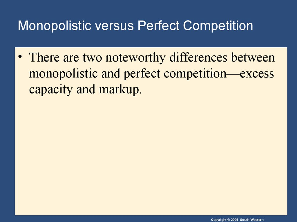 monopoly and olygopoly Monopolies and oligopolies are both marketing situations that are present in today's economic system many people are aware of what a monopoly is and the.