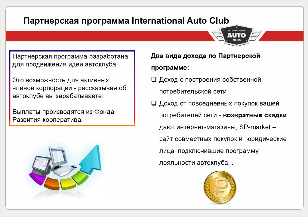 Партнерская программа International Auto Club