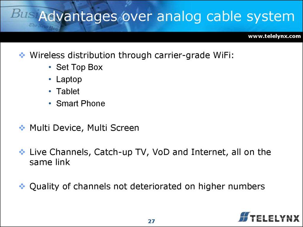 AIBO TV System Via Grand Wi Fi - online presentation