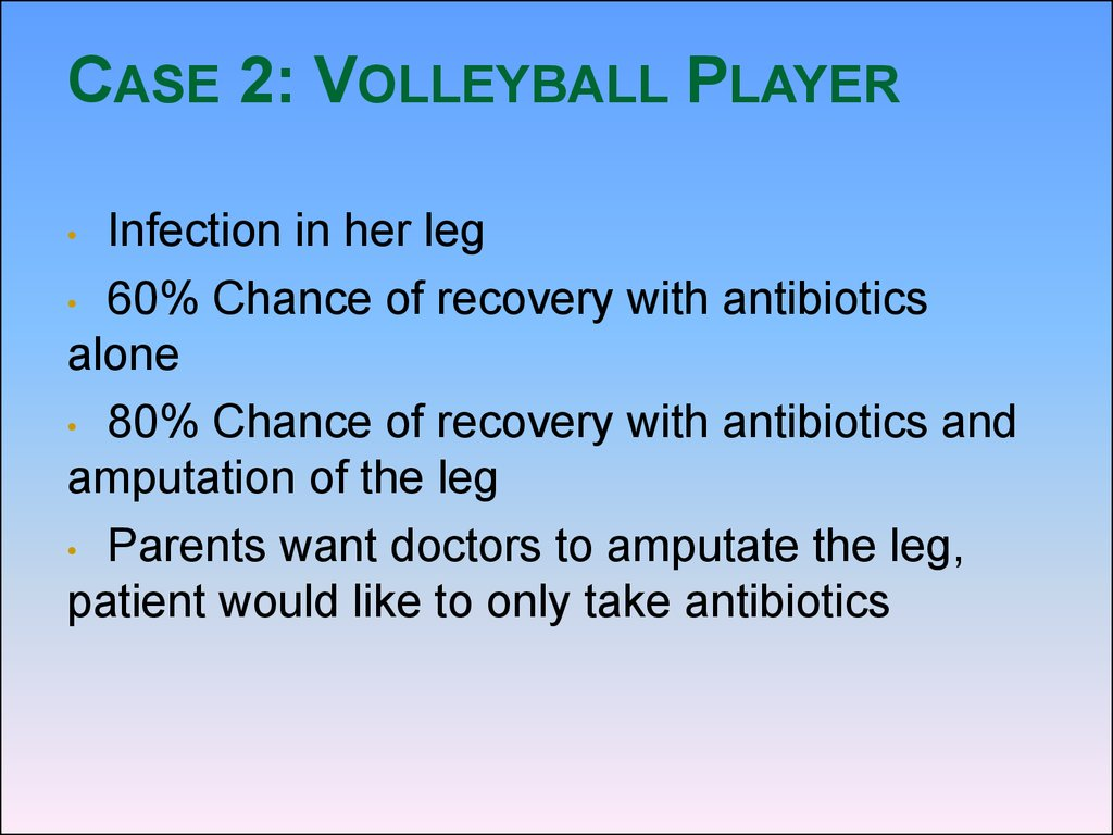Case 2: Volleyball Player