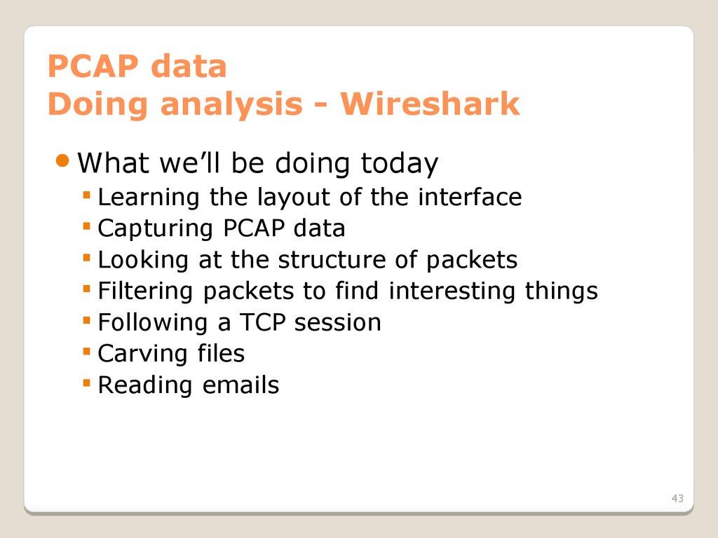 Network monitoring & forensics - презентация онлайн