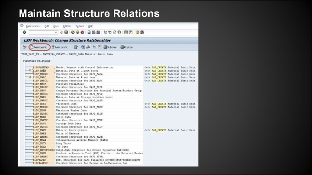 LSMW Material data load using BAPI - online presentation