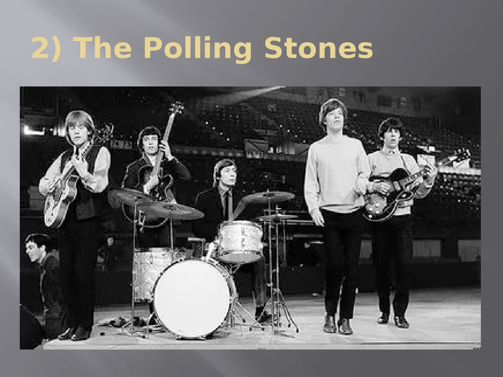 2) The Polling Stones