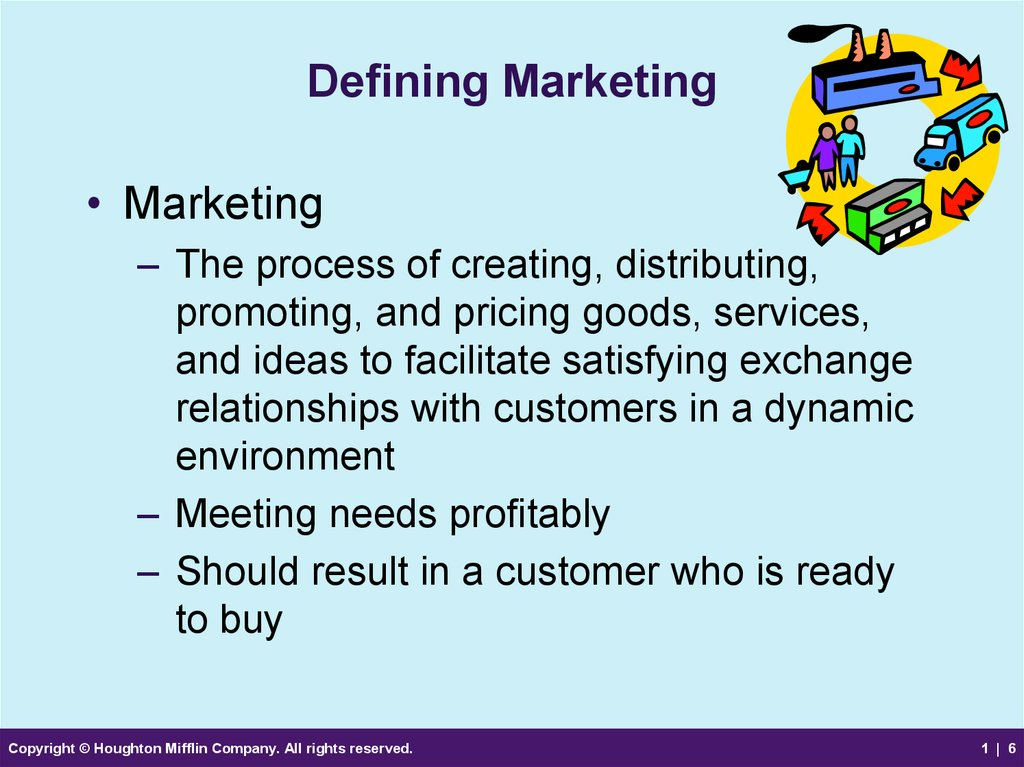 Defining Marketing