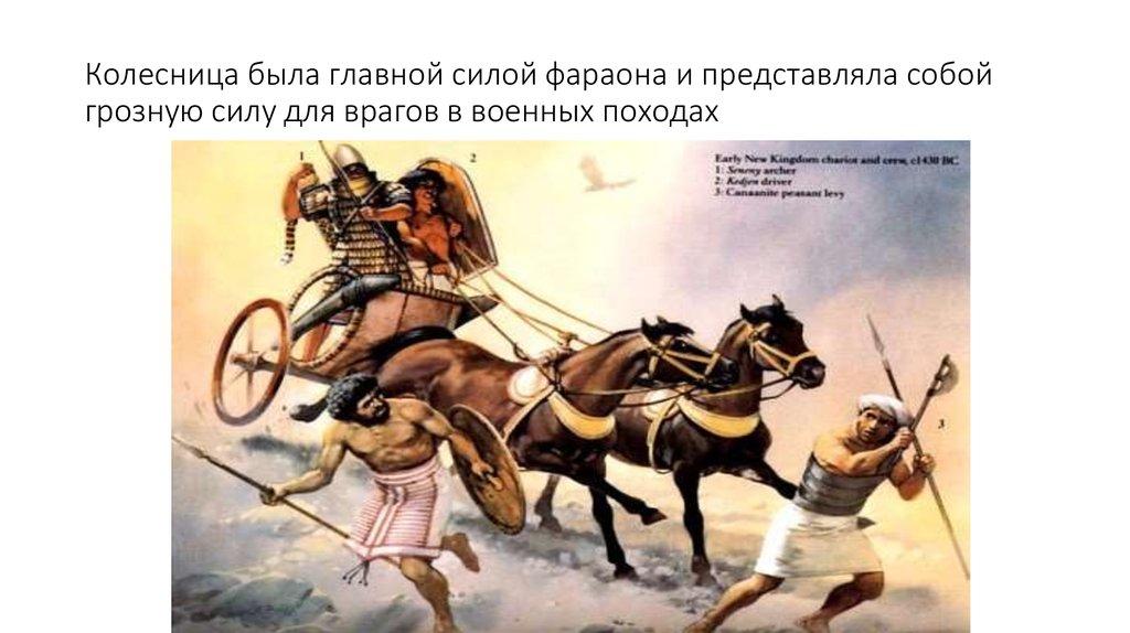 рисунок о походе фараона она также