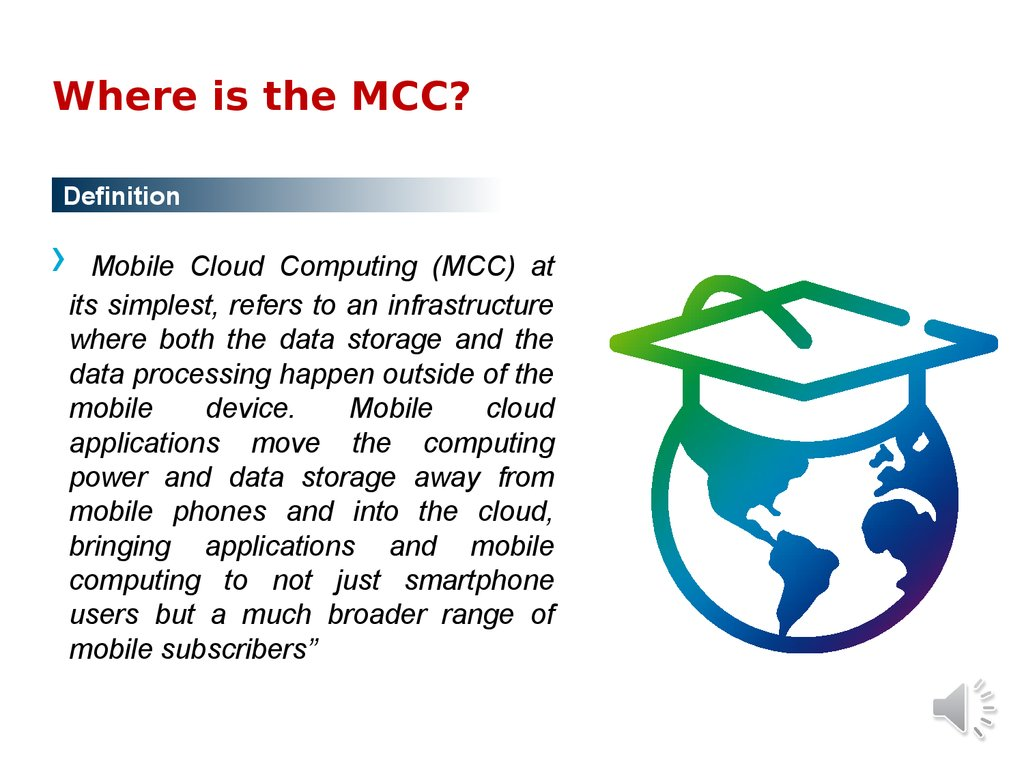 Where is the MCC?