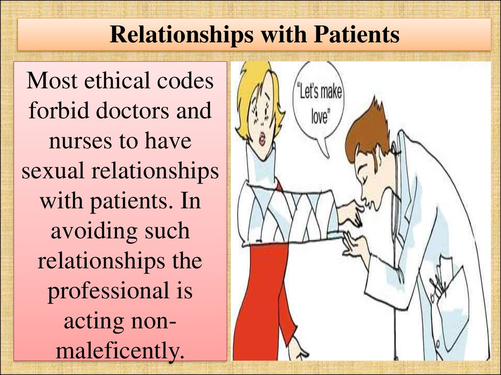 Relationships with Patients