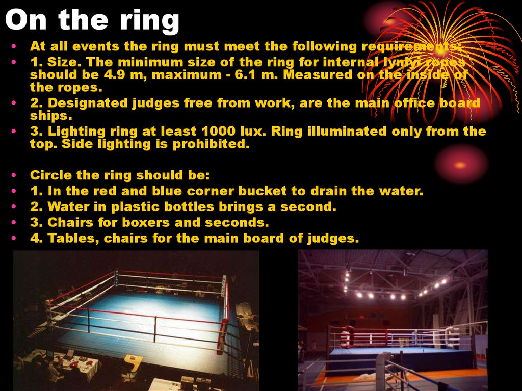 On the ring