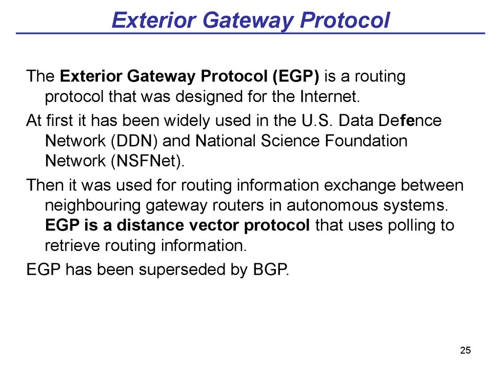 Theme 02 Stack Of Tcp Ip Protocols Online Presentation
