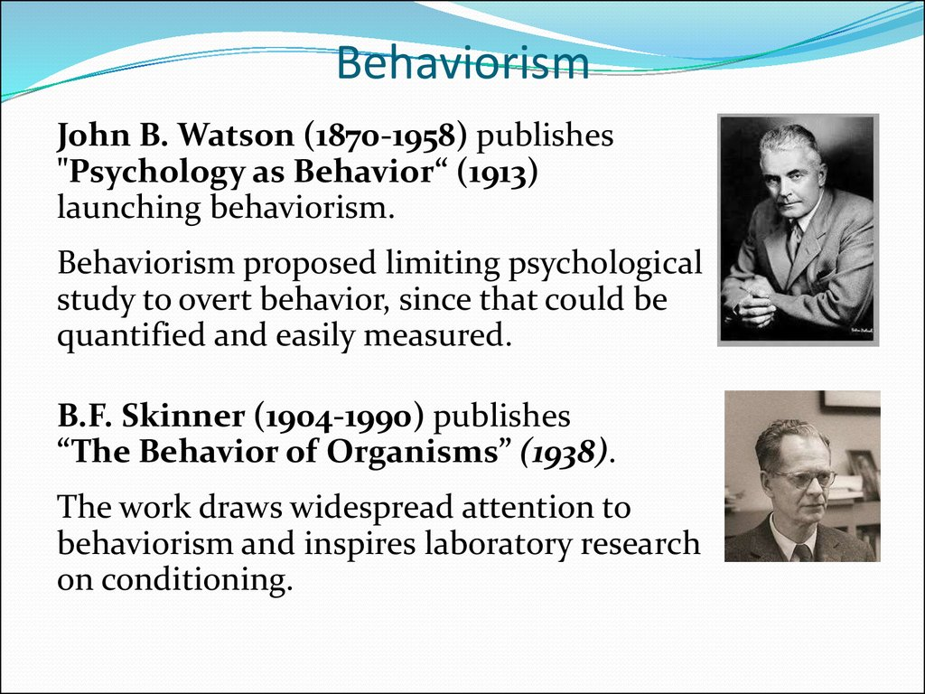 behaviorism in psychology