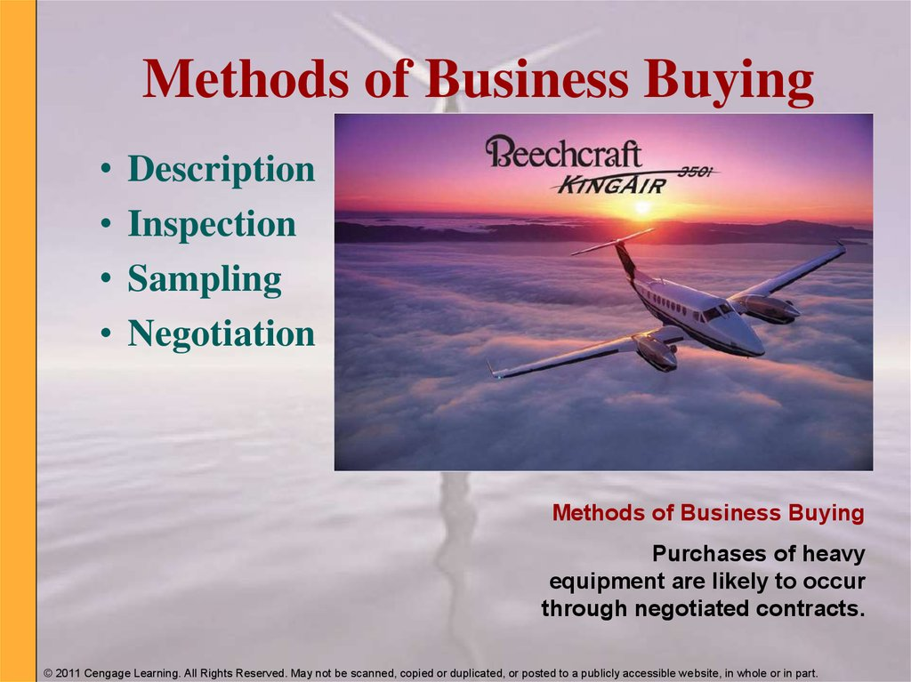Methods of Business Buying