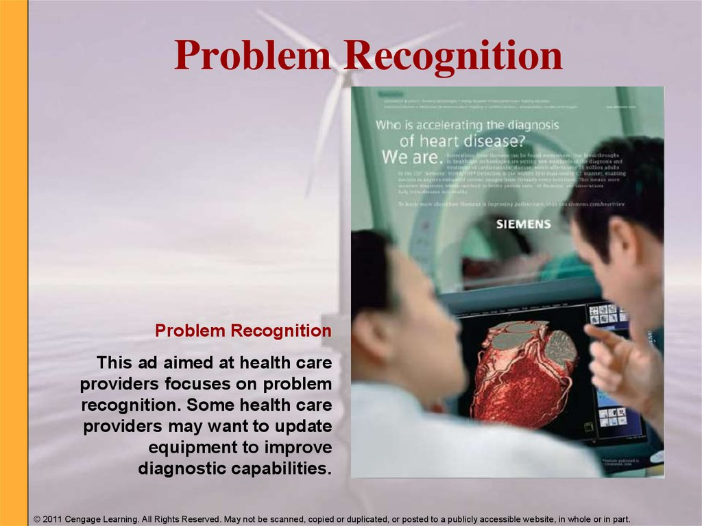 Problem Recognition