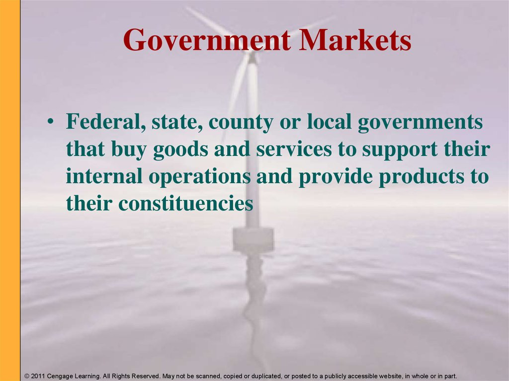Government Markets