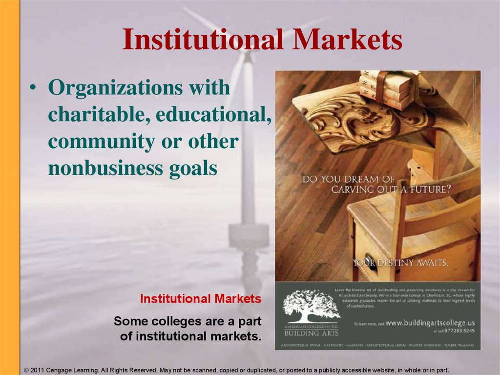 Institutional Markets
