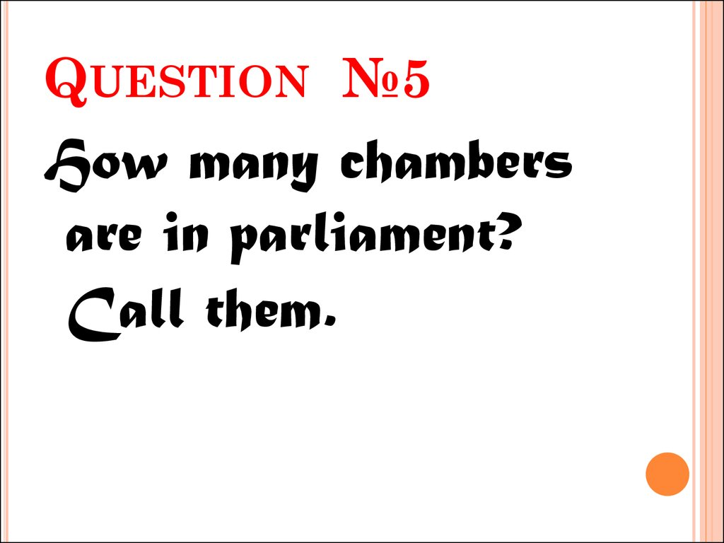 Question №5