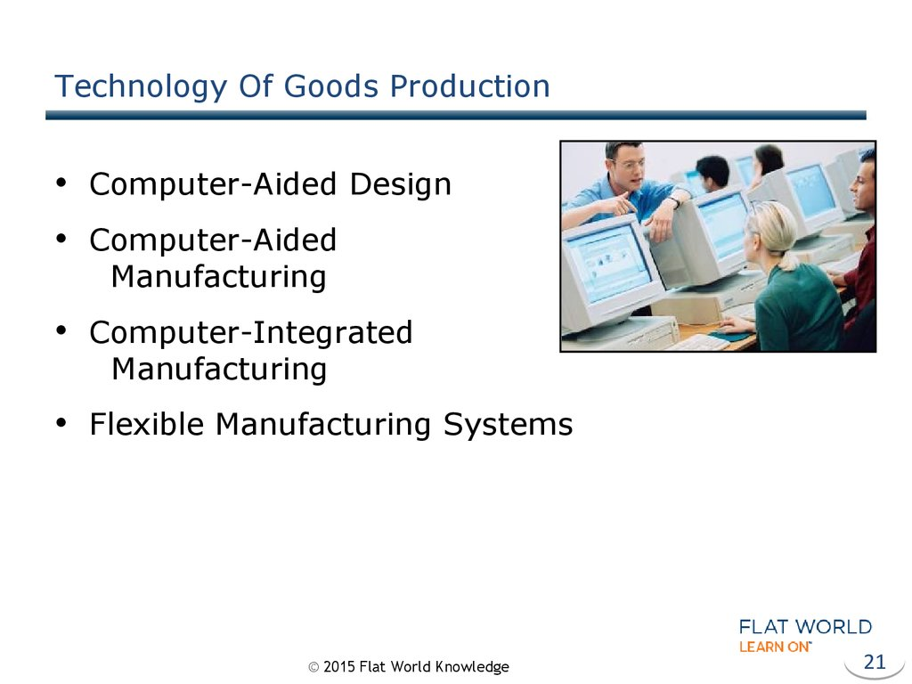 Technology Of Goods Production