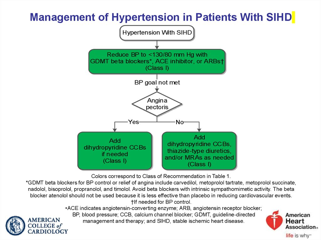 Management of Hypertension in Patients With SIHD