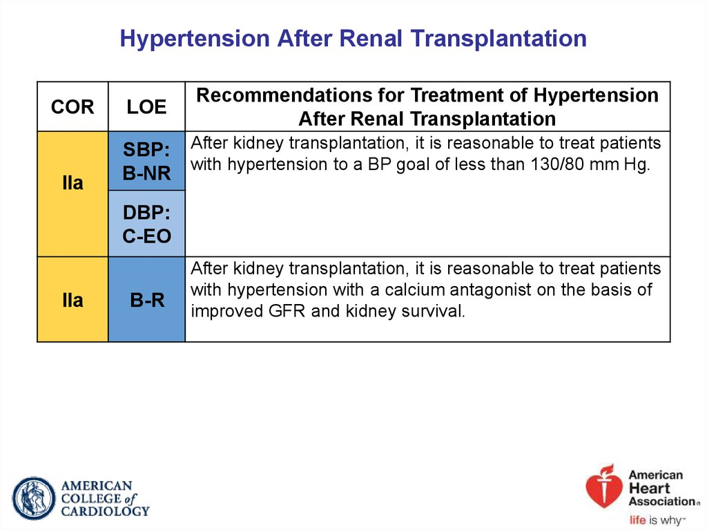 Hypertension After Renal Transplantation
