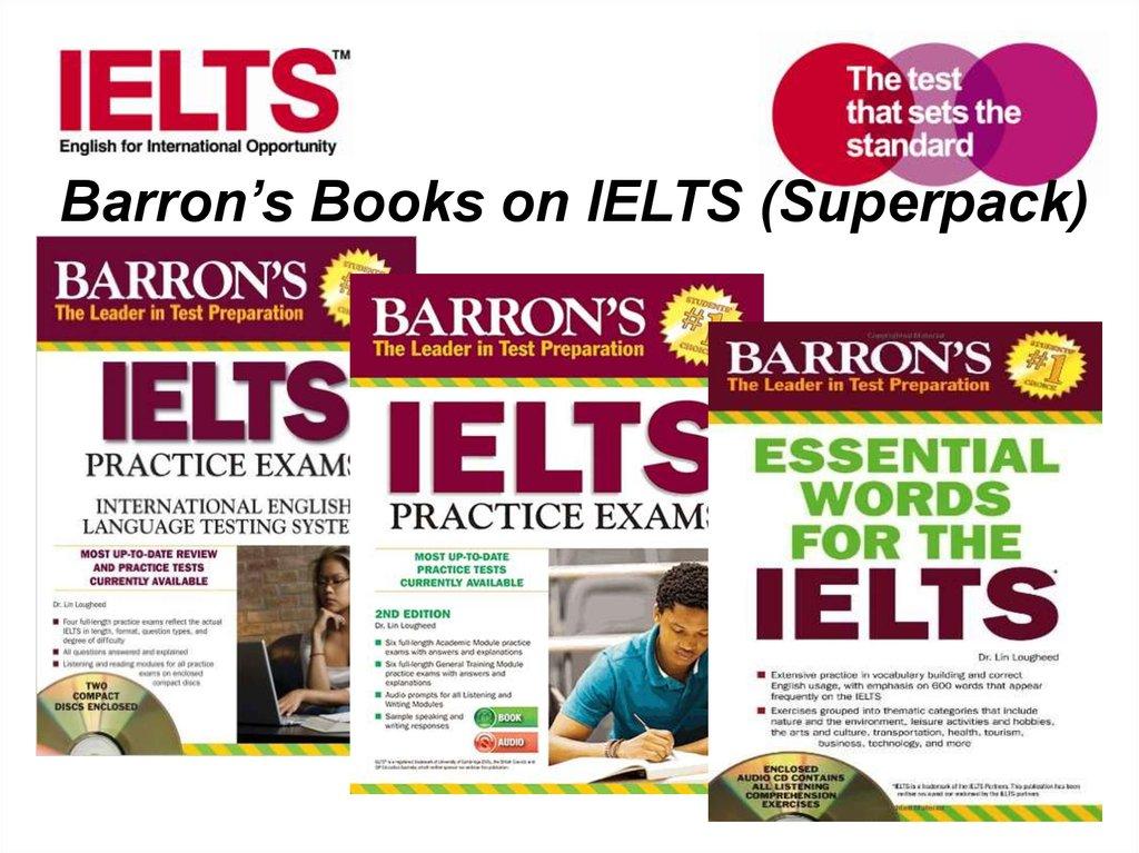 Preparing students for ielts academic module - online