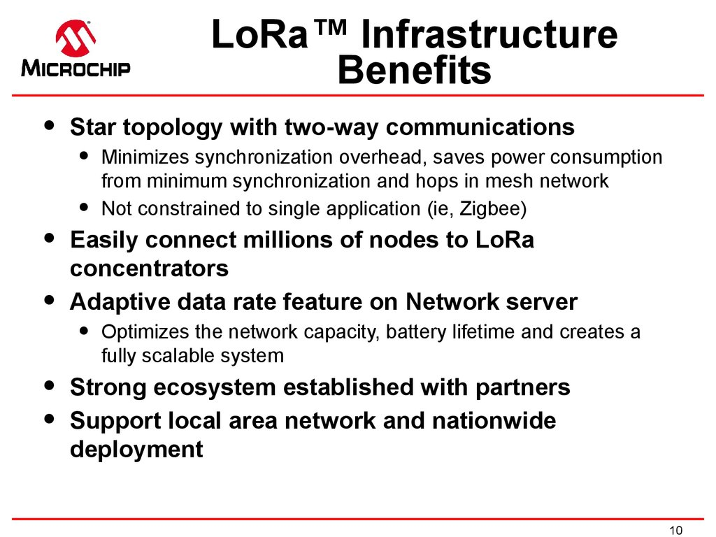 Supports Private Networks Scalable & Flexible Architecture Options