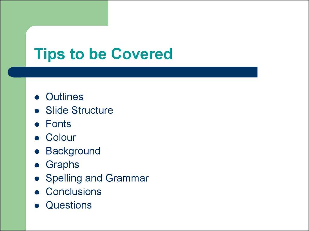 Making Powerpoint Slides презентация онлайн