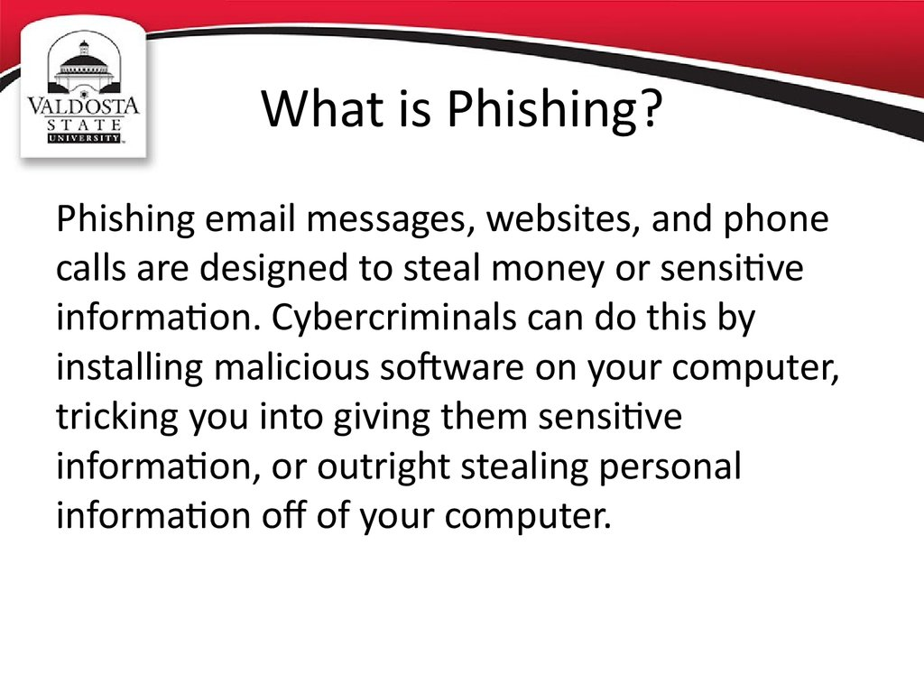 Phishing Awareness Online Presentation