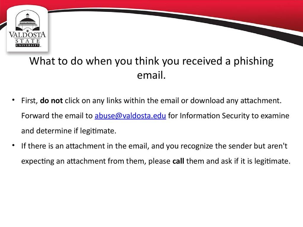 Phishing Awareness Online Presentation
