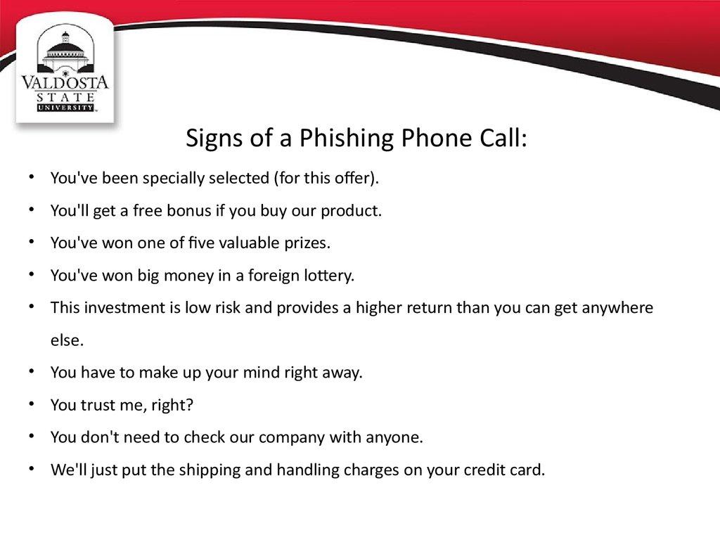 Phishing Awareness презентация онлайн