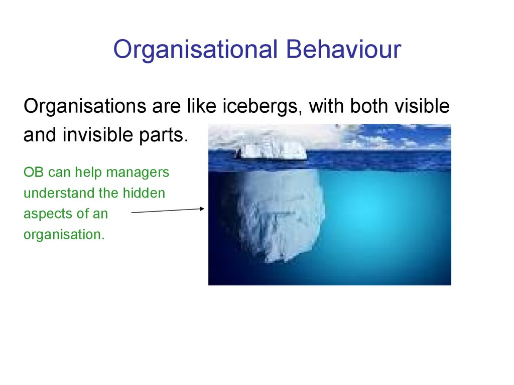organisation and behaviour 13 discuss the factors which influence individual behaviour at work individual behaviour: peoples behave are a complex matter individual behaviour means how a person behavioural patterns.