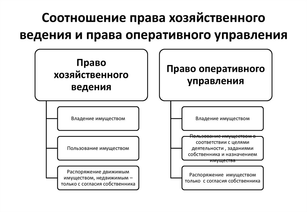 Субъекты права оперативного управления Серанис заговорила