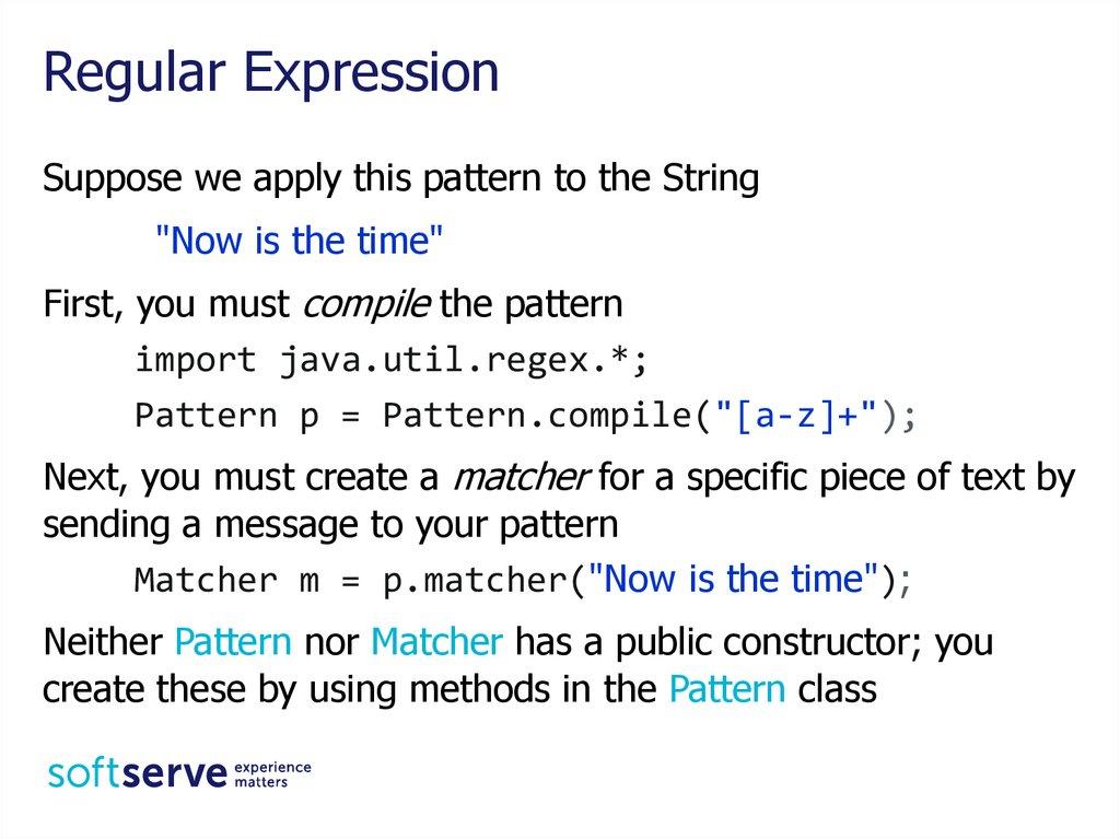 String Regular Expression Java Core Online Presentation Best Java Pattern Compile