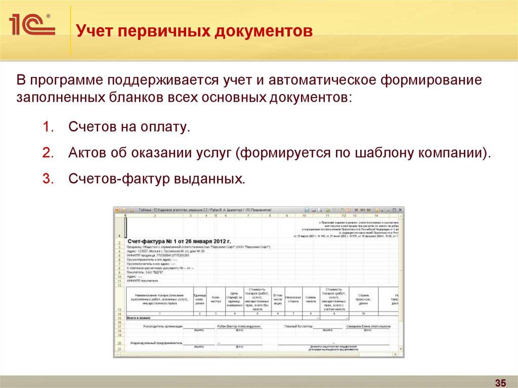 Бухгалтерские документы по оказанию услуг организация для повышения квалификации бухгалтера