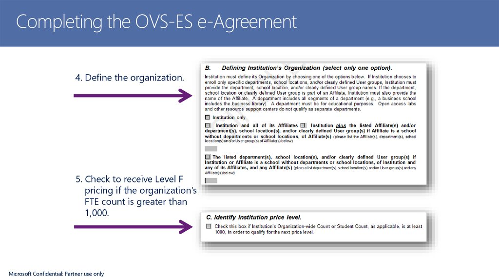 Completing the OVS-ES e-Agreement