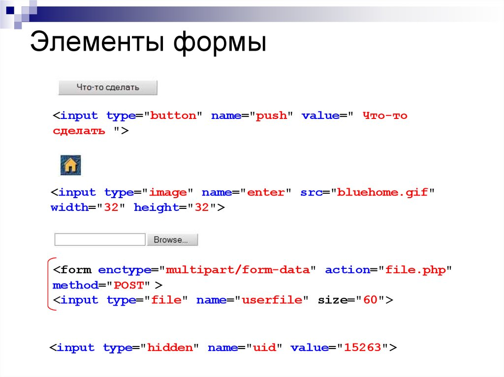 Основы HTML и CSS  Фреймы и формы - презентация онлайн