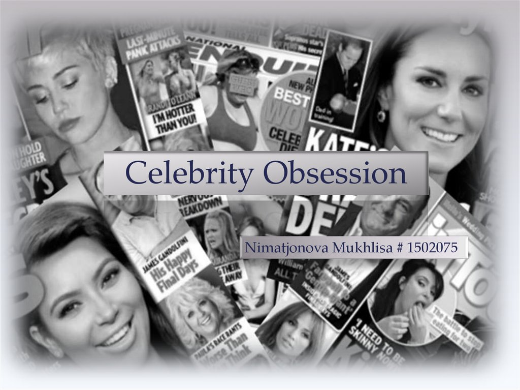 Consequences of Celebrity Obsession - ukessays.com