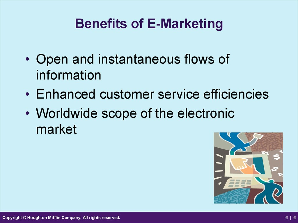 Benefits of E-Marketing