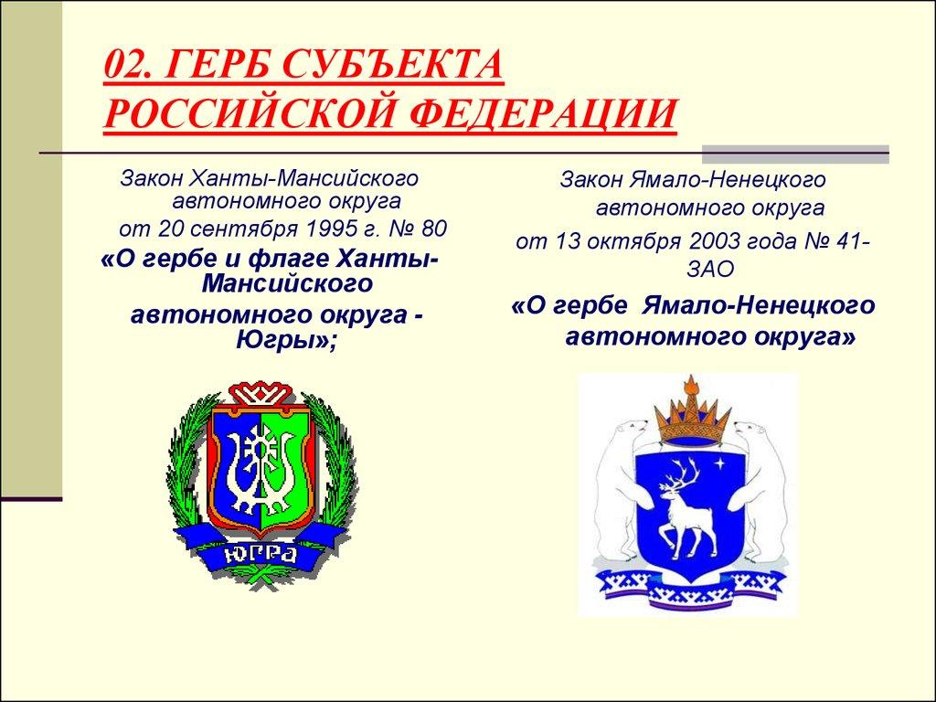 Гербы субъектов российской федерации картинки для окружающего мира