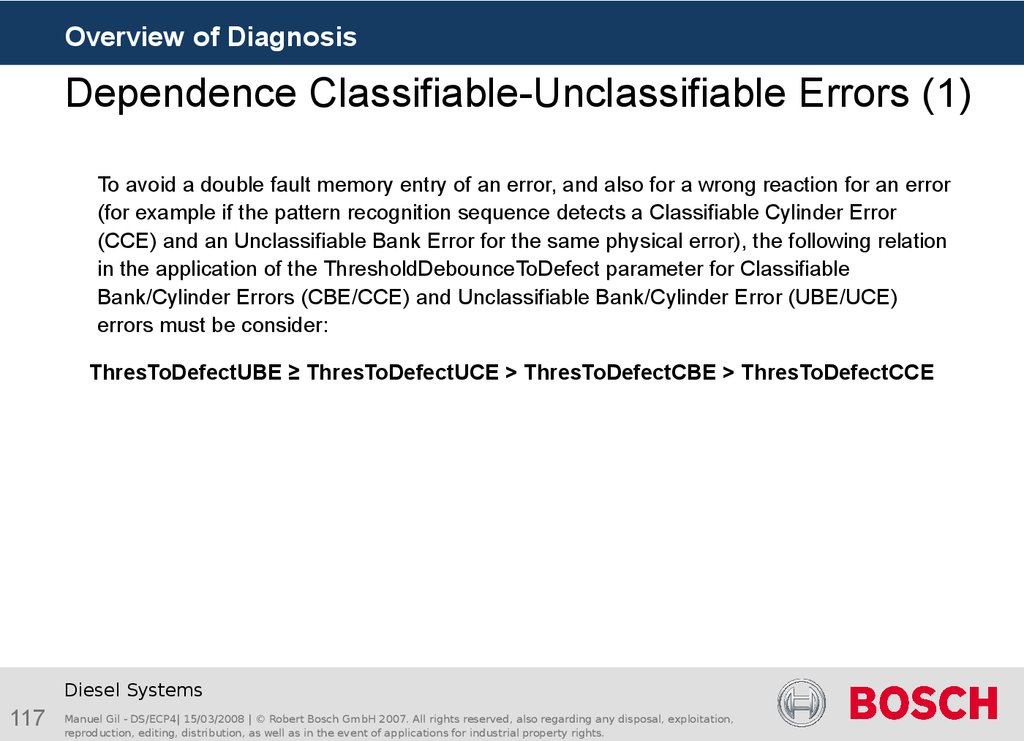 Dependence Classifiable-Unclassifiable Errors (1)