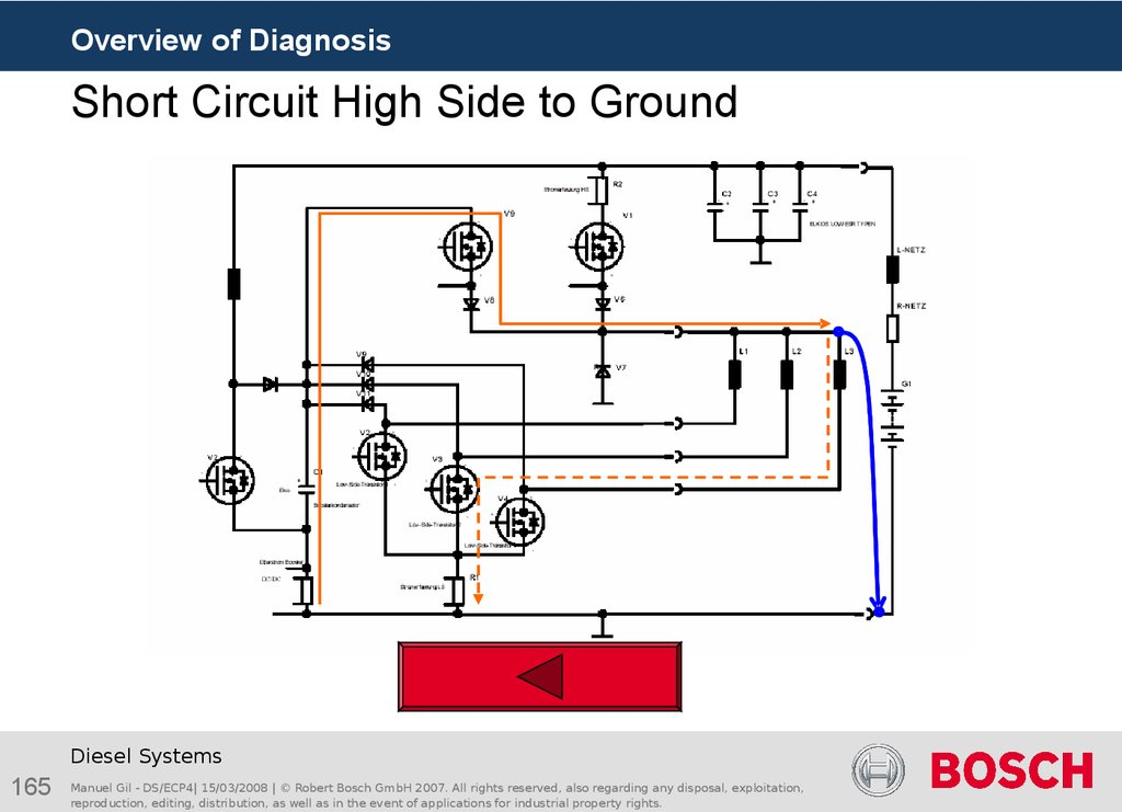 Short Circuit High Side to Ground