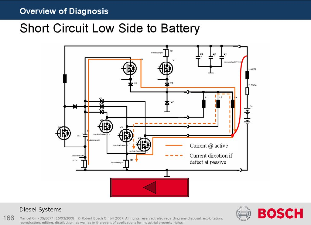 Short Circuit Low Side to Battery