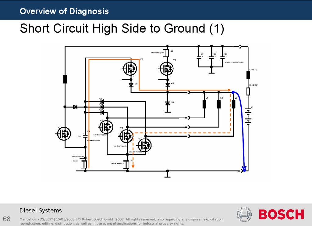 Short Circuit High Side to Ground (1)