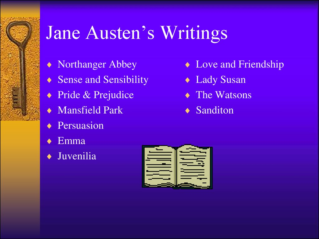 Jane Austen's Writings