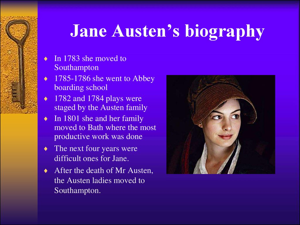 a biography of jane austen an outstanding author Jane austen biography, age, husband, marriage, siblings, family tree, movies, death and books jane austen biography jane austen was born on 16th december 1775 in steventon, united kingdom.