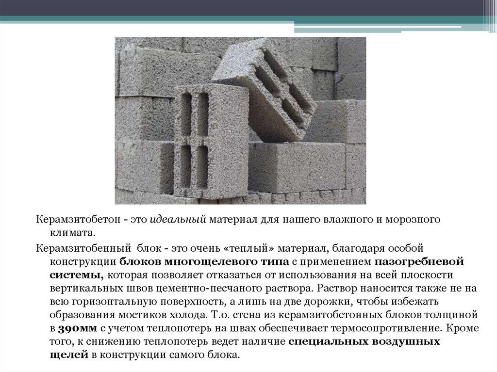 Керамзитобетон конструкции виды деформации бетона